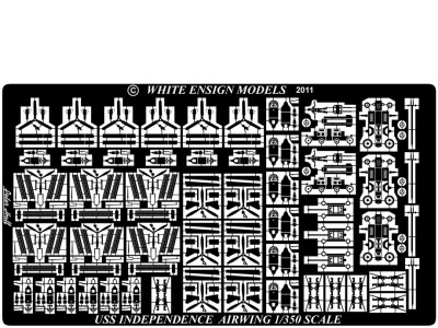 WEM 1/350 Independence Class-Light Carriers - The Airwing (PE 35150)