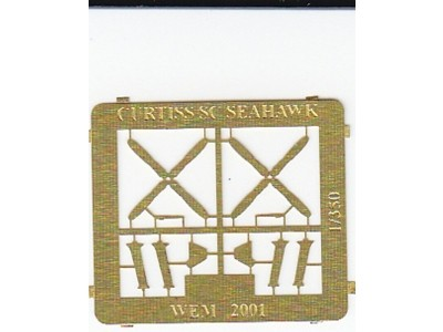 WEM 1/350 Curtiss SC-1 Seahawk PE Parts (PE 35114)