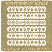 WEM 1/350 Kriegsmarine Depth Charge End Caps (PE 35128)