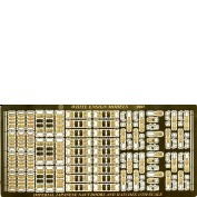 WEM 1/350 Imperial Japanese Navy Doors & Hatches Superset (PE 35102)