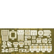 WEM 1/700 WWII USN Radars (PE 789)
