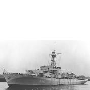 WEM 1/350 HMS Portchester Castle (K362) Castle Class Corvette (K 3580)