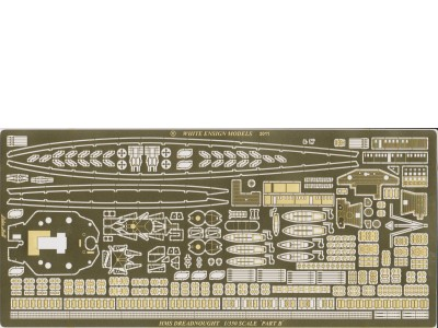 WEM PE 1/350 HMS Dreadnought (PE 35155)