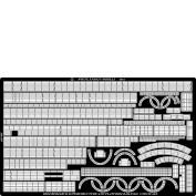 WEM 1/200 Bismarck Superstructure Rails (PE 2010)