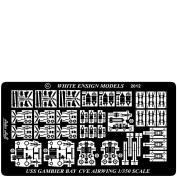WEM 1/350 Casablanca-Class Escort Carriers - The Airwing (PE 35152)