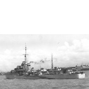WEM 1/700 HMS Scorpion (G72), S-Class Destroyer (K762)
