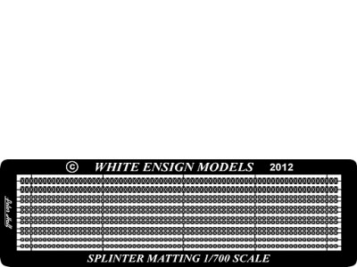 WEM 1/700 Royal Navy Splinter Matting (PE 7107)