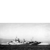 WEM 1/700 HMS London 1942 (K757)