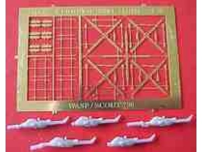 WEM 1/700 Westland Wasp/Scout (AS 7058)