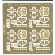 WEM 1/700 8-Barrelled Pom-poms (PE 792)