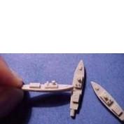 WEM 1/700 45' Admiral's Barge (PRO B019)