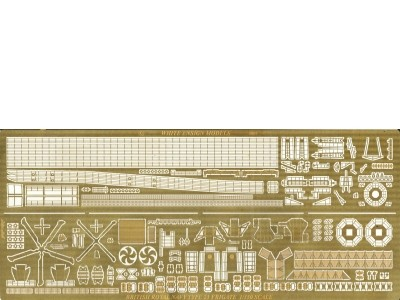 WEM 1/350 Type 23 Frigate - FOR WEM RESIN KIT (PE 35108)