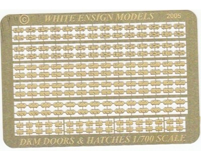 WEM 1/700 Kriegsmarine Doors & Hatches (PE 764)