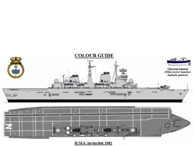 WEM HMS Invincible Print (P 001)