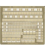 WEM 1/350 Royal Navy Doors & Hatches Superset (PE 35125)
