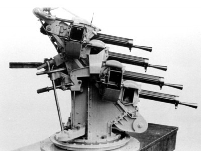 "WEM 1/350 Royal Navy Vickers Mk.3 0.5"" Quad Machine Gun (x4) (PRO 3532)"