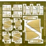 WEM 1/700 RN Ship's Boat's Details (PE 739)