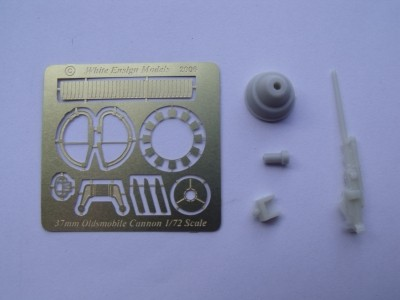 WEM 1/72 Oldsmobile M4 37mm Cannon (PE 7222)