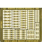 WEM 1/700 Kriegsmarine Cable Reels (PE 786)