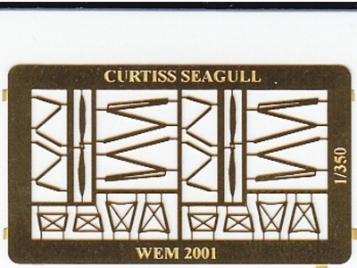 WEM 1/350 Curtiss SOC-3 Seagull Details (PE 35113)