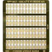 WEM 1/350 Imperial Japanese Navy Doors & Hatches (PE 35018)