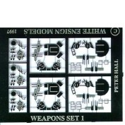 WEM 1/700 WWII RN Light AA Weapons (PE 720)