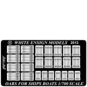 WEM 1/700 Oars for Ships' Boats (PE 7103)