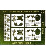 WEM 1/600 WWII RN Light AA Weapons (PE 613)