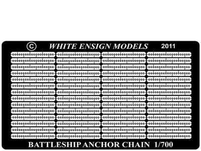 WEM 1/700 Battleship Anchor Cable Links (PE 7101)