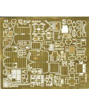 WEM 1/72 Handley Page Halifax Interior Detail Set (PE 7244)